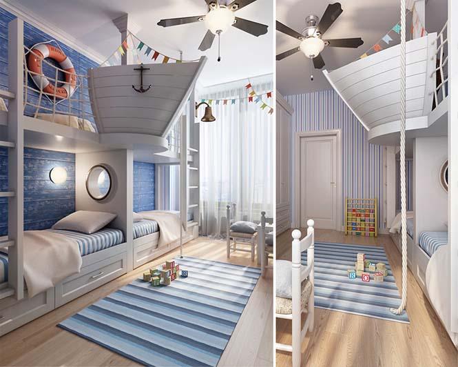 Δημιουργικές ιδέες για παιδικά δωμάτια (21)