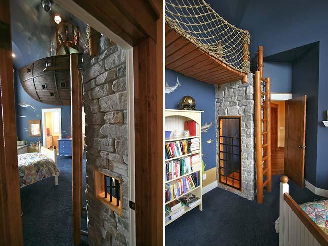 Δημιουργικές ιδέες για παιδικά δωμάτια (2)