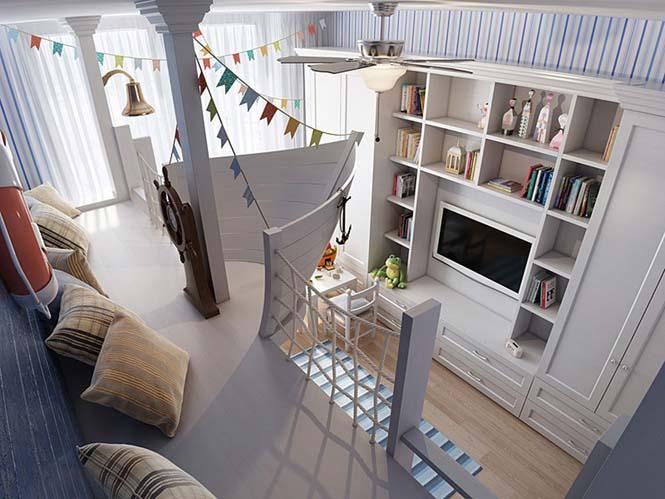 Δημιουργικές ιδέες για παιδικά δωμάτια (22)